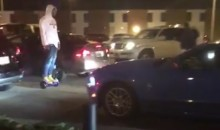 Cam Newton Was Roaming the Streets on a Hoverboard for Reasons Unknown (Video)