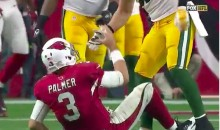 Clay Matthews Offers Carson Palmer Some Help Getting Up, Then Leaves Him Hanging (Video)