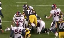 Was This Cheap-Shot From Steelers-Broncos Worse Than Beckham's? (Video)
