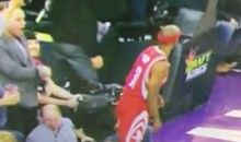 DeMarcus Cousins' Manager Ejected For Swinging at Jason Terry While Sitting Coutside (Video)