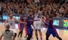 Derrick Williams Posterizes Pistons Defender With Reverse Slam (Video)