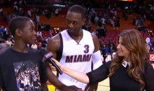 Dwyane Wade's Son Is Pretty Tough Critic of His Dad's Play (Video)