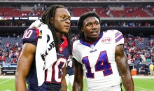 Former Clemson Teammates Sammy Watkins and DeAndre Hopkins Trade Jerseys after Game (Pics)