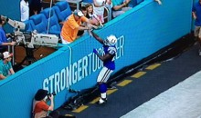 Dolphins Fans Are High-Fiving Colts Players After They Score (Video)