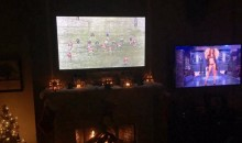J.J. Watt Watches Football and Victoria's Secret at Same Time (Pic)