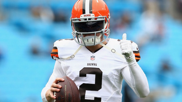 Johnny Manziel Browns starter