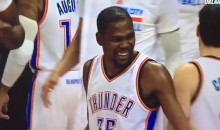 Kevin Durant Had a Good Laugh at Enes Kanter's Expense (Video)