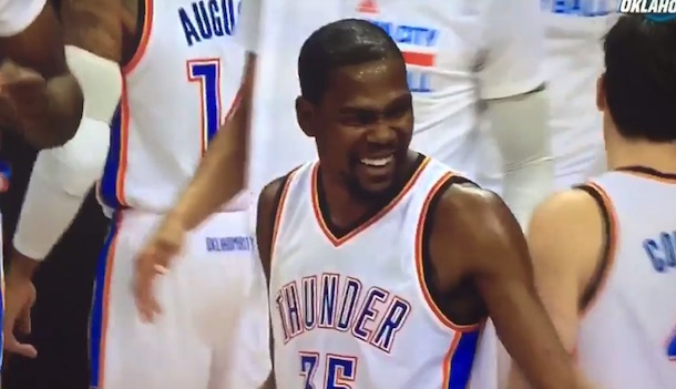 Kevin Durant Laugh