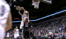 Old Man Kevin Garnett Dunks All Over Blake Griffin, Trash Talks Him (Video)