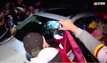 Kirk Cousins Got His Car Swarmed by Fans after Redskins Win (Video)