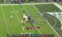 Kirk Cousins Has Brain Fart, Kneels To End Half With Redskins In Scoring Position (Video)