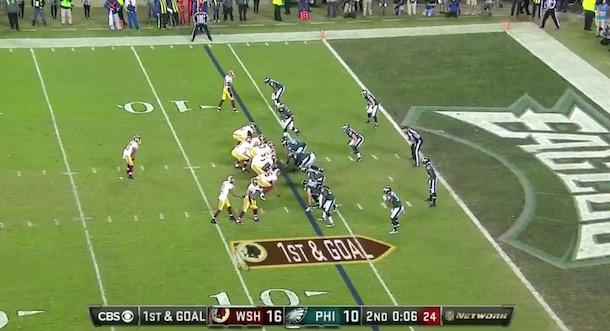 Kirk Cousins kneel down