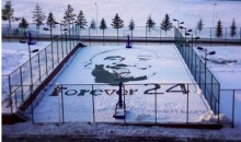 Kobe Bryant Honored in China with a Giant Snow Portrait (Pics)