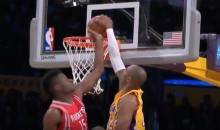 Kobe Bryant Posterized Clint Capela, Much To The Delight Of Dwight Howard (Videos)