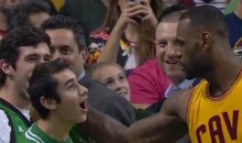 LeBron James Finds Special Olympics MVP After Celtics Game, Gives Him Shoes (Video)
