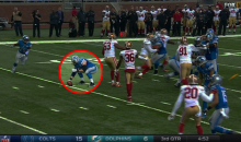 Lions' Travis Swanson Forgets To Snap The Ball & Stays Incredibly Still (Video)