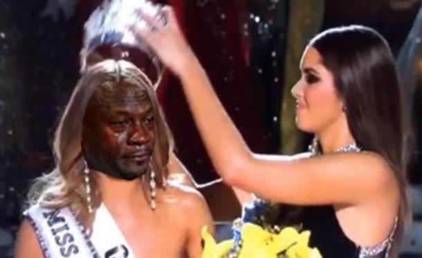 Miss Universe Jordan Meme