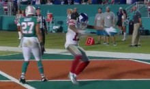 Odell Beckham Scores 84-Yard TD, Celebrates With Ray Lewis Dance (Video)