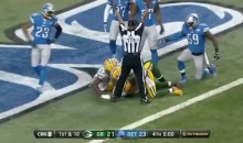 Packers Beat Lions With 61-Yard Hail Mary TD on Final Untimed Down (Video)