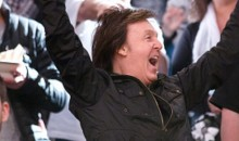 Paul McCartney Appeared at Rangers and Nets Games This Weekend (Video + Pics)