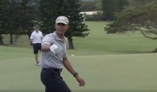 President Obama Nails a 40-Ft Chip Shot on Vacation in Hawaii (Video)