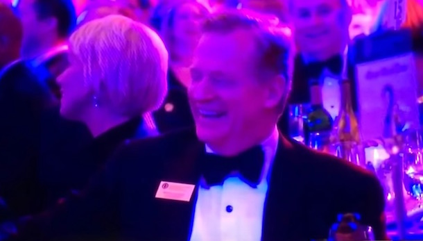 Roger Goodell Laugh Concussion Joke