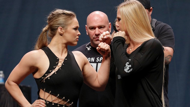 Ronda Rousey - Holly Holm Rematch