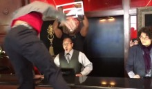 Russell Westbrook Just Starts Dunking on People During Foot Locker Ad Shoot (Videos)
