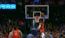 Russell Westbrook Sent Home an MASSIVE Dunk Last Night (Video)
