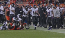 Did Will Hill Step Out Of Bounds On His Game-Winning TD Return To Beat The Browns!? (Vid)