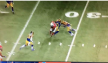 Janoris Jenkins Gets Absolutely Laid Out By His Own Teammate (Video)