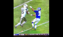 Brandon Marshall Throws Punches At Giants Player, Giants Player Gets Penalized (Video)