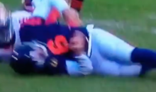 Jay Cutler Got Annihilated On This Play (Video)