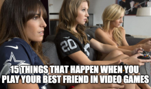 15 Things That Happen When You Play Your Best Friend In Video Games (Video)