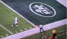 Marcus Mariota Catches 41-Yard TD Pass (Video)