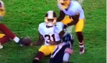 Matt Jones Lucked Out Big Time On This Incredibly Embarrassing Fumble (Video)