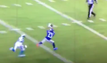 Odell Beckham Jr. Burns Josh Norman, Drops Easy Touchdown Pass (Video)