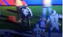Cam Newton Truck Sticked the Hell Out Of A Ref (Video)