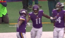 Mike Wallace Was Pissed Jerick McKinnon Got Flagged For This TD Celebration (Video)