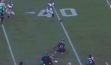 Marqise Lee Somehow Makes Ridiculous Circus Catch Against Falcons (Video)