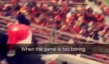 49ers Fans Are Doing The Unexpected While Watching Their Team's Boring Games (Video)