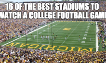 16 Of The Best Stadiums To Watch A College Football Game (Video)