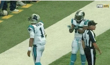Cam Newton Panics As He Almost Forgets To Give Ball To Young Fan (Video)