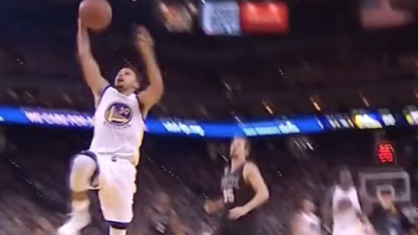 Steph Curry Dunk Fail