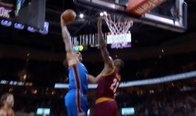 Steven Adams Dunked All Over LeBron James (Video)