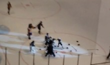 Watch These Little Mites Throw Down During Their Hockey Game (Video)