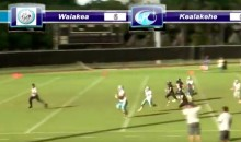 This 350-lb High School Running Back from Hawaii is FAST (Video)