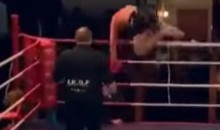 This Kickboxing KO Takes a Very Unexpected Turn (Video)