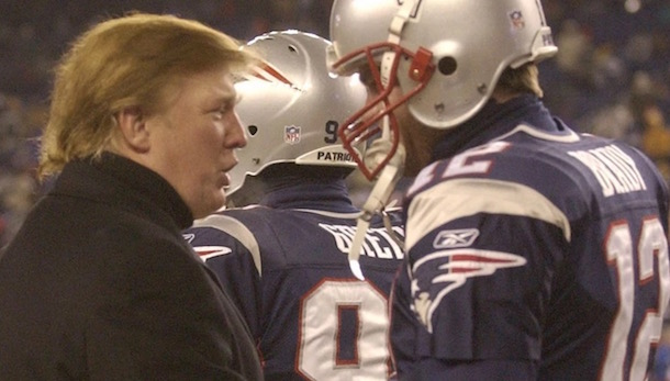 Tom Brady Donald Trump