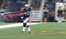 Tom Brady Catches 36-Yard Pass From Danny Amendola (Video)